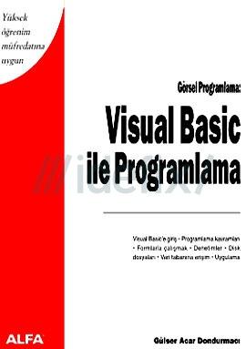 Visual basic ile programlama gulser acar dondurmaci