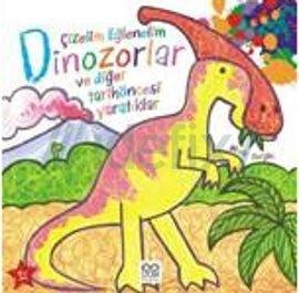 Cizelim eglenelim dinozorlar ve diger tarih oncesi yaratiklar mark